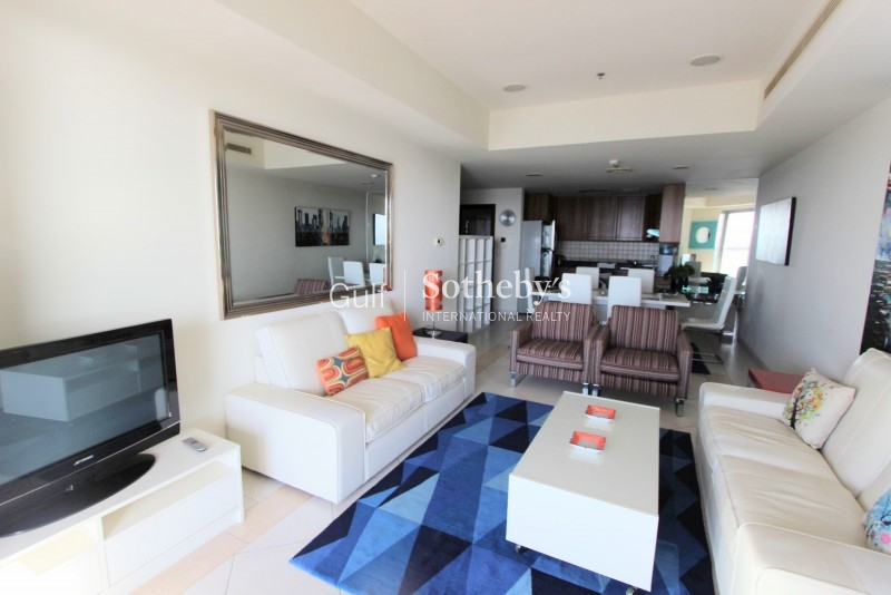 2br In Princess Tower With Full Sea View