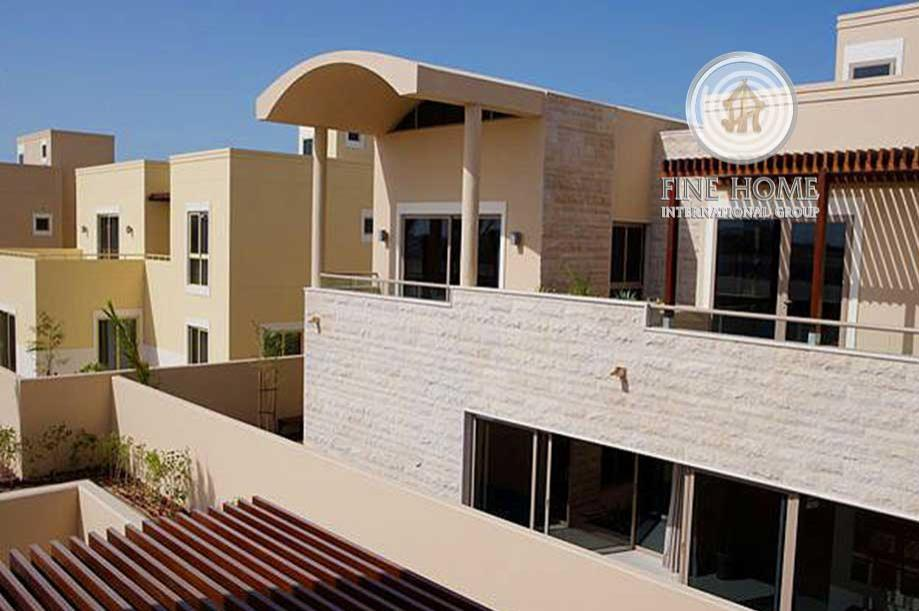 Wonderful Villa In Al Raha Gardens