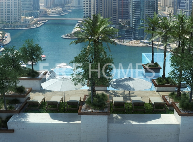 Off Plan Luxury Studios, 1, 2, 3 Bedroom Apartments And 4 Bed Duplex Penthouses At Marina Gate, Dubai Marina Er-S-5547