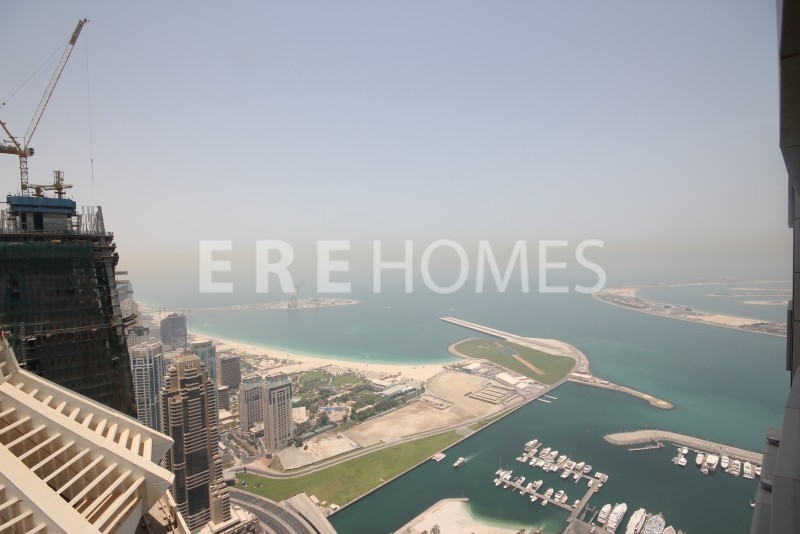 Fully Furnished High Floor One Bedroom Apartment In Princess Tower, Dubai Marina. Er R 13531